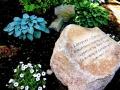 dedication stone